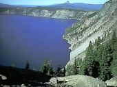 Crater Lake on a VERY clear day